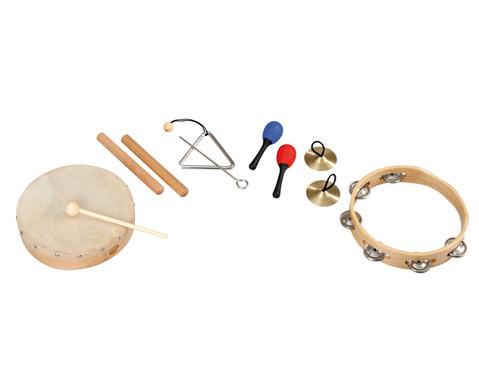 Betzold Musik Rhythmik-Musikinstrumente-Set 6-tlg