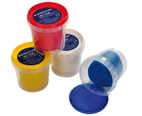 Softknete 4er Set  Basisfarben