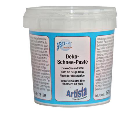 Deko-Schnee-Paste