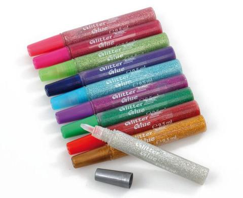 Glitter Glue 10 Stifte