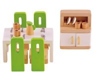 Puppenmöbel Esszimmer
