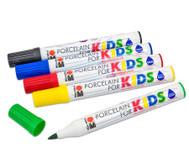 Porzellanstifte Kids Basisfarben