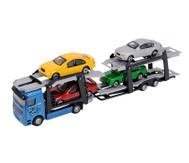 Truck mit 4 Autos