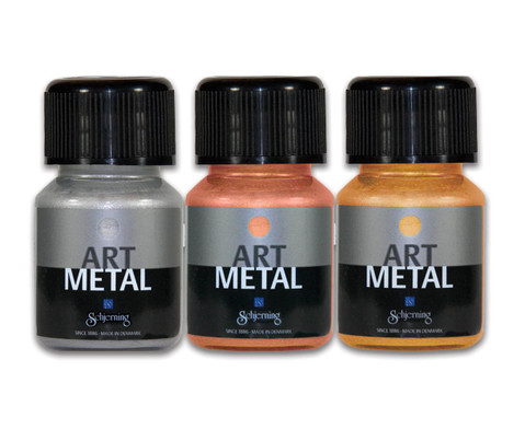 Metallic-Farben 3er-Set