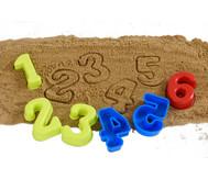 Sandformen Zahlen 0-9, 10 Stück