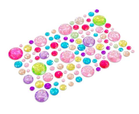 Glitzersteine selbstklebend 105 tlg