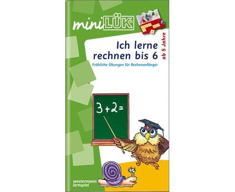 miniLUEK-Heft Ich lerne rechnen bis 6