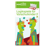 miniLÜK-Heft: Gehirnjogging für Vorschulkinder 2