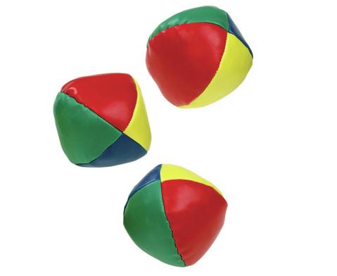 Satz mit 3 Kinder-Jonglier-Baellen