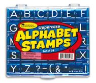 Alphabet-Stempel: Großbuchstaben