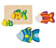 Schichtpuzzle Fisch