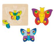Schichtpuzzle Schmetterling