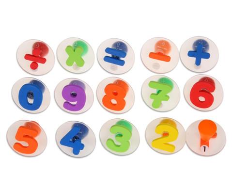 15 Riesen-Zahlen-Stempel