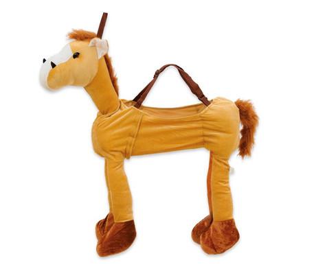 Schluepfkostuem Hellbraunes Pferd