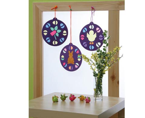 12 Oster-Fensterbilder