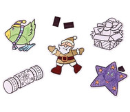 12 Weihnachtsanhänger