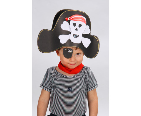 Piratenhut-Bastelset 8 Huete-3