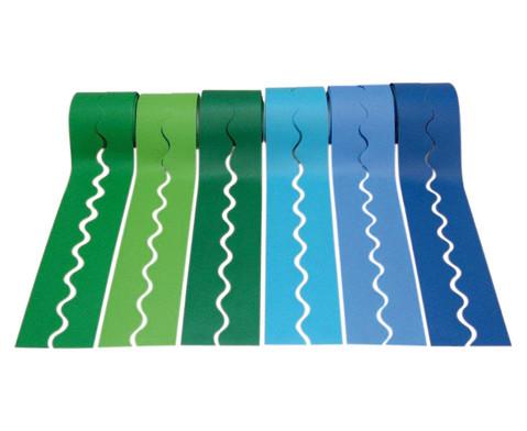 Zierleisten-Set kalte Farben-1