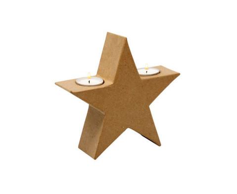 Teelichthalter Stern-2