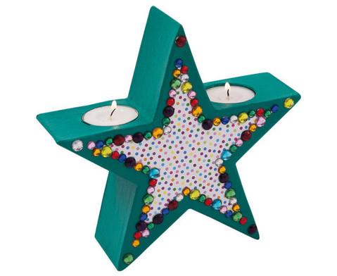 Teelichthalter Stern-5
