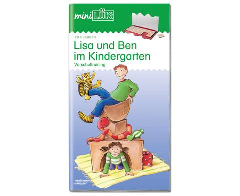miniLUEK-Heft Lisa und Ben im Kindergarten-1