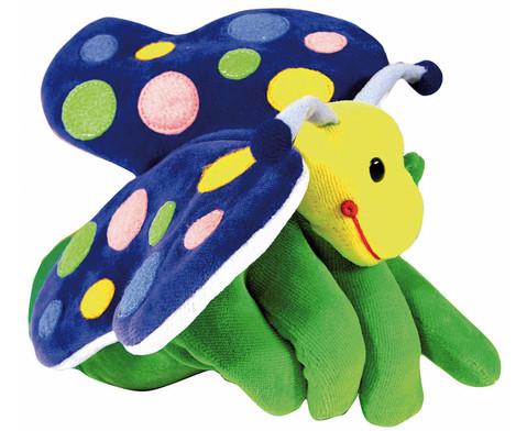 Handpuppe Schmetterling-1
