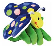 Handpuppe Schmetterling