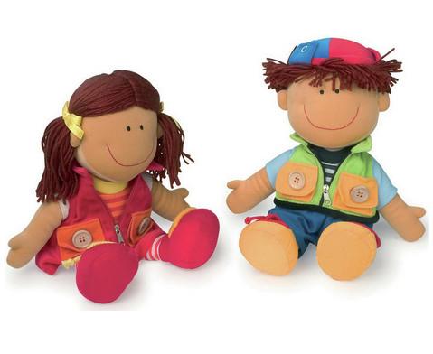 Puppen Nicoletta und David-1