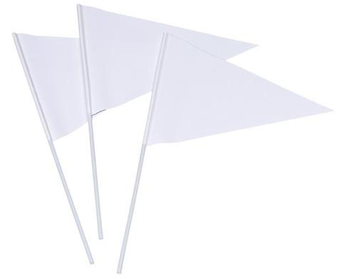 Faehnchen am Stock Dreieck-2