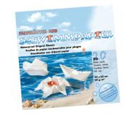 Schwimmpapier, 20 Blatt, 20 x 20 cm