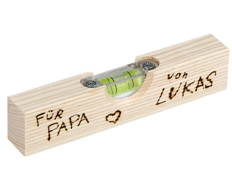 Wasserwaage aus Holz-1