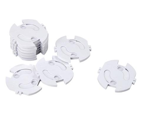 Steckdosenschutz weiss 10 Stueck im Set