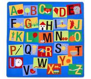 Teppich Buchstaben-Quadrat