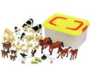 Bauernhoftiere Set