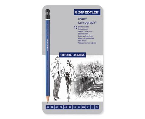 12 Staedtler Bleistifte-2