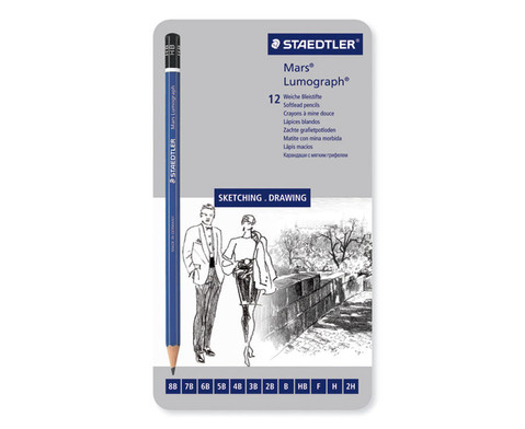 12 Staedtler Bleistifte-1