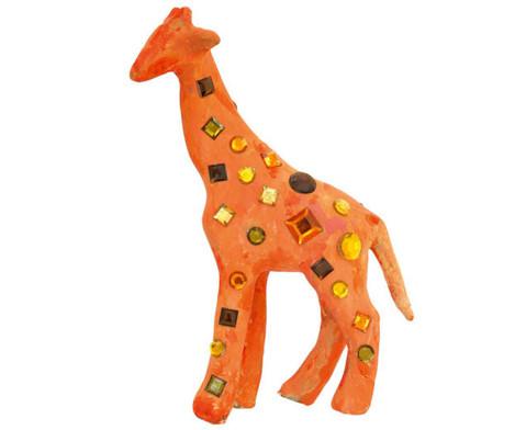 Pappmach Tierset mit 5 Tierfiguren-5