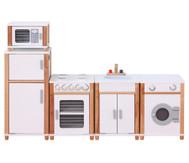 Kindergarten-Modulküche, weiß