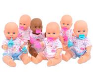 Puppen-Set, 6 Stück