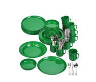 Geschirr-Set, grün