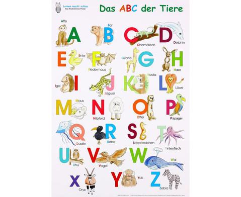 Das ABC der Tiere Poster