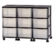 Container-System mit 9 großen Schüben