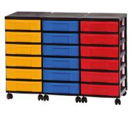 Container-System mit 18 kleinen Schüben