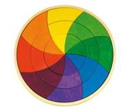Geometrisches Puzzle, Farbkreis Goethe