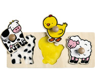 Fühl-Puzzle Tiere
