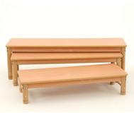 Dreifach-Sitzbänke
