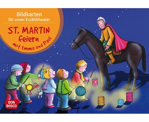 St Martin feiern mit Emma und Paul Kamishibai-Bildkartenset