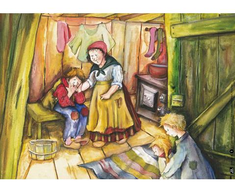 Bildkarten Haensel und Gretel-4