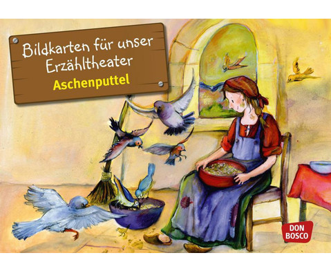 Aschenputtel Kamishibai-Bildkartenset