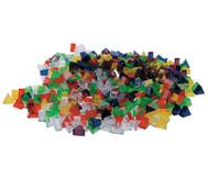 Transparente ECKO-Legesteine: kleine Dreiecke